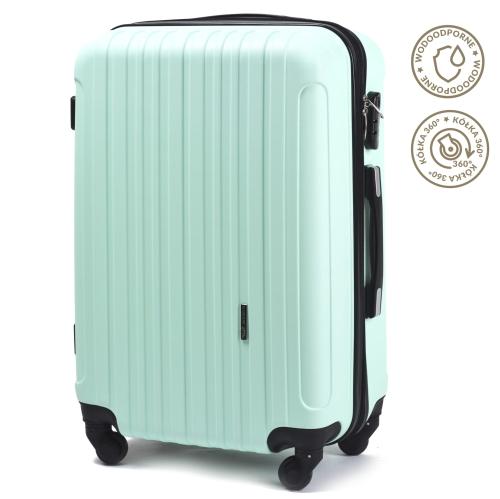 136ce620e7fd6 Duża walizka na kółkach WINGS flamingo | WINGS24.pl